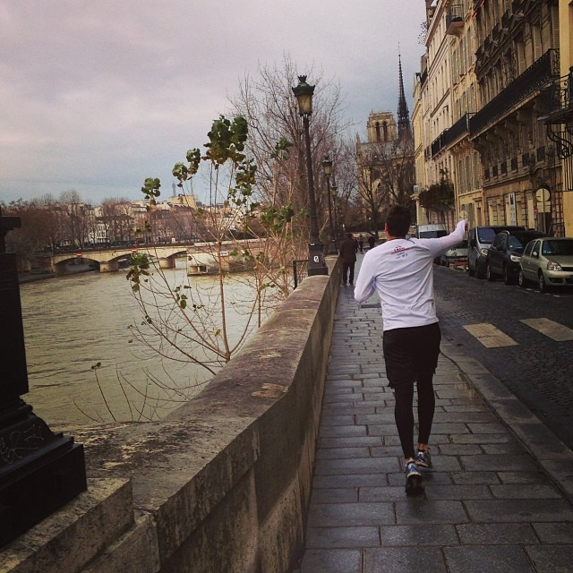 running in paris