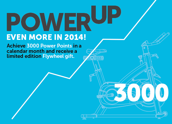 Flywheel power up