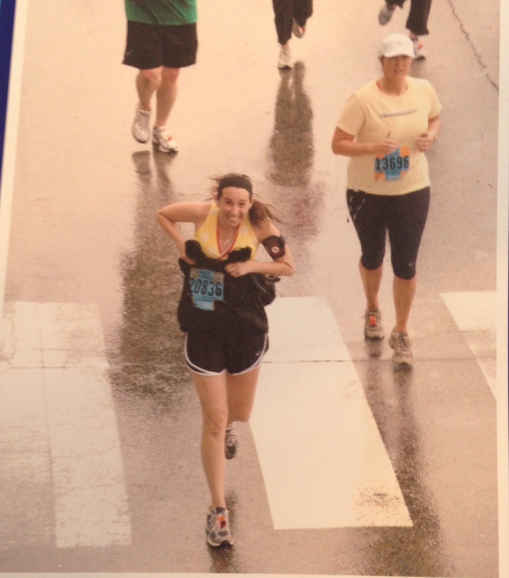 Running the 2009 Broad Street Ten Miler in the rain