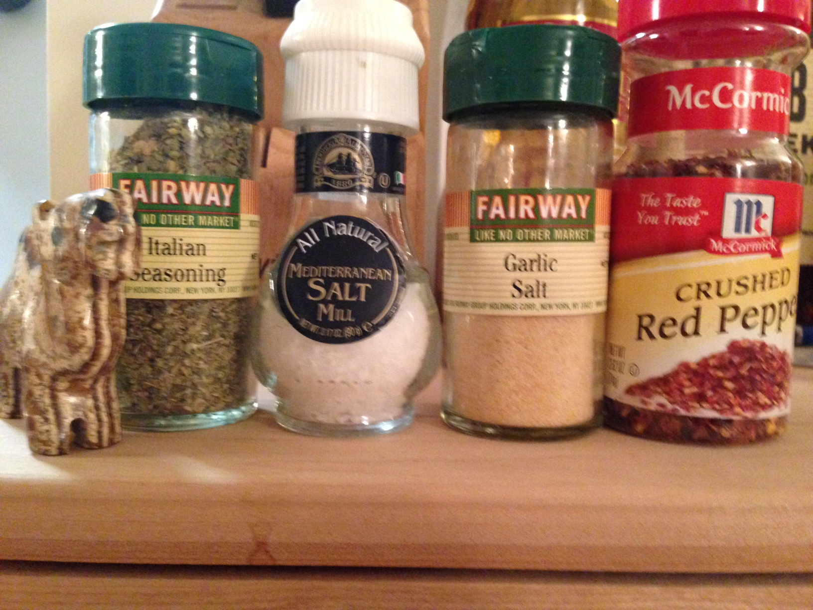 hey we're the seasonings. we met at Fairway and now we live together in harmony in the '60s