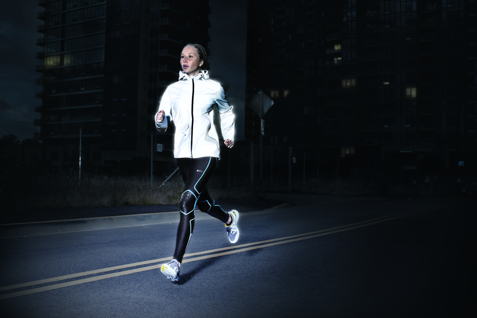 Nike reflective running gear