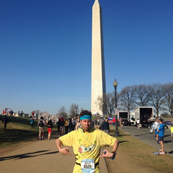 from last year's Cherry Blossom 10 miler