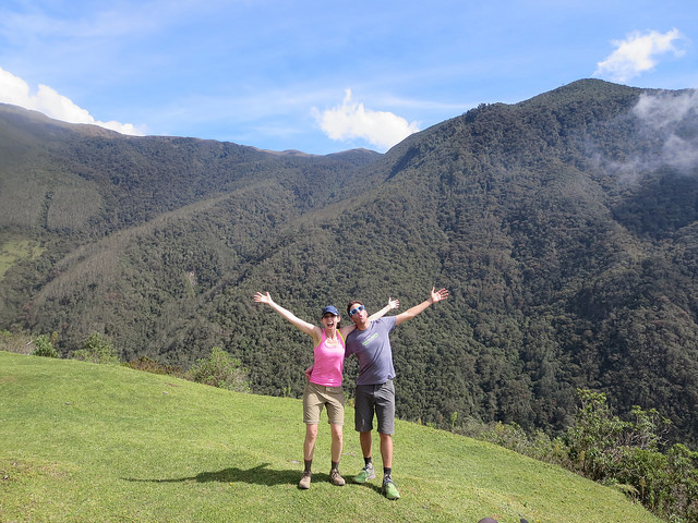 Andes hike