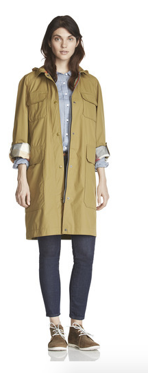 woodrich raincoat