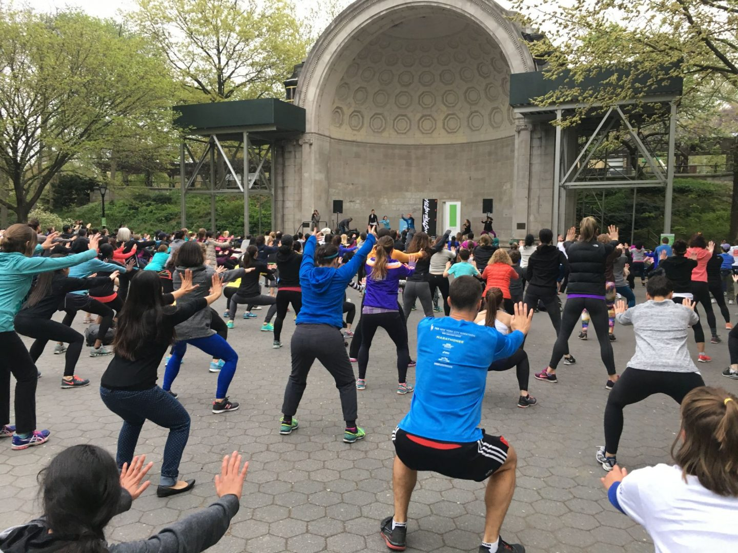 free fitness in central park
