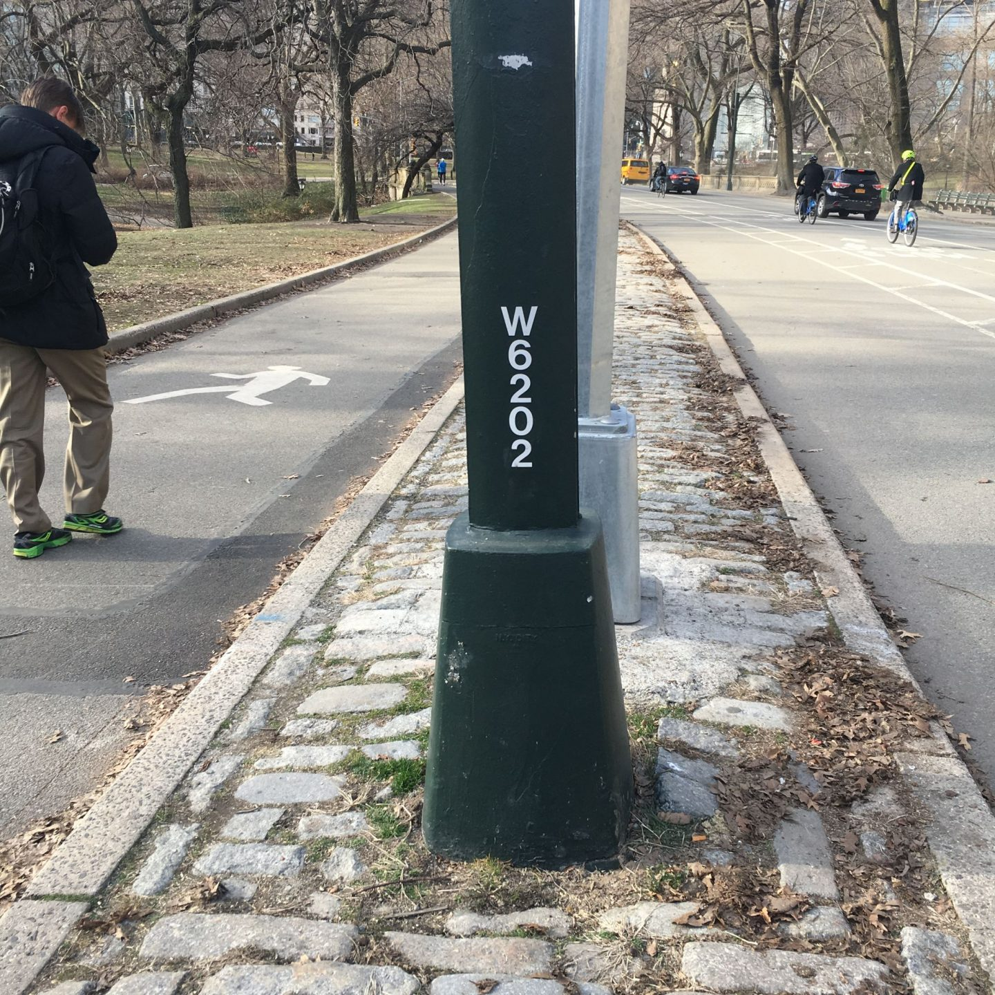 Central Park Light Post