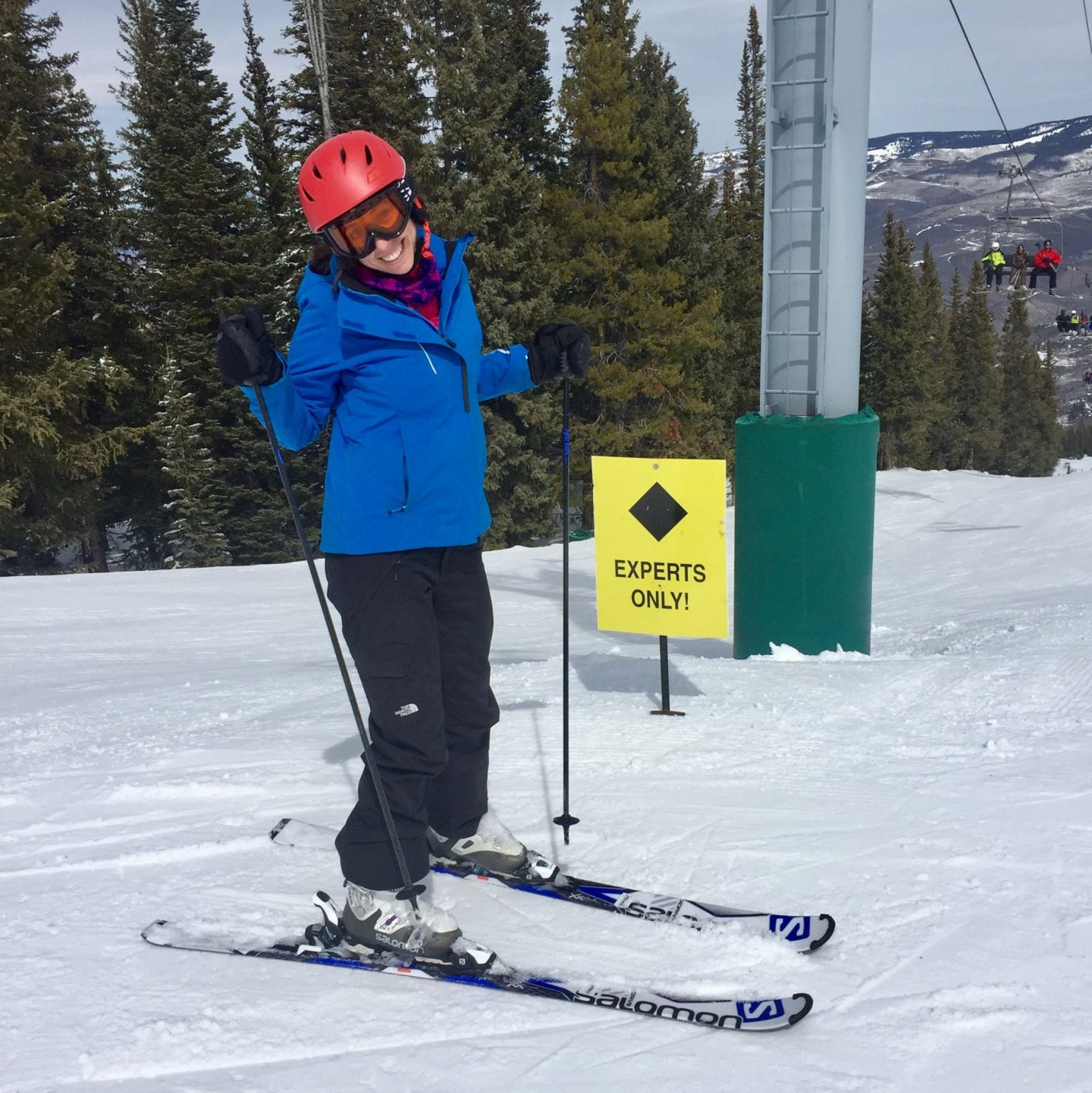 black runs Beaver Creek