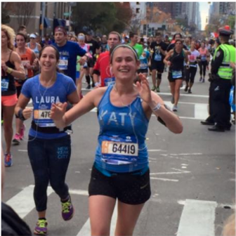 Katy NYC marathon 2015