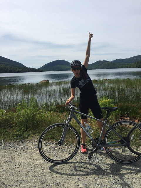 biking acadia national park