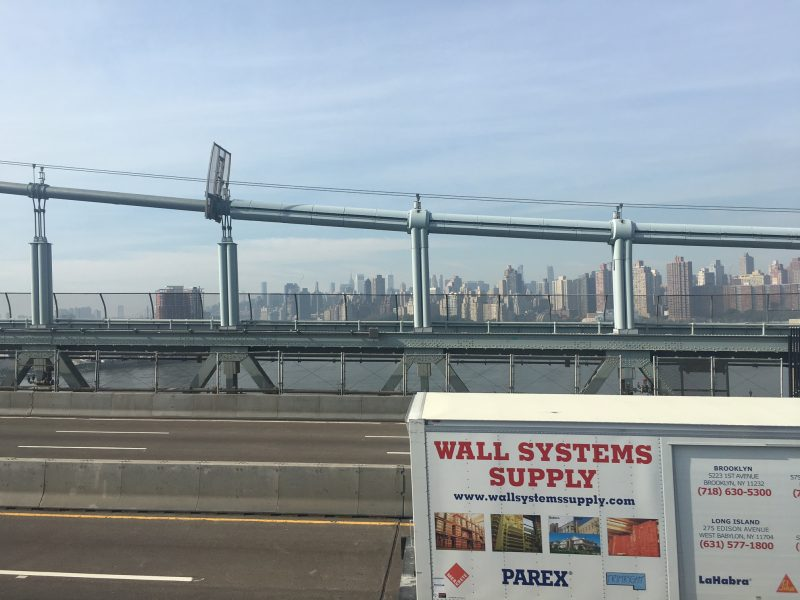 running over the triboro